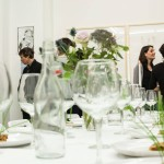 Dining with artists and curators2