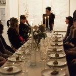 Dining with artists and curators